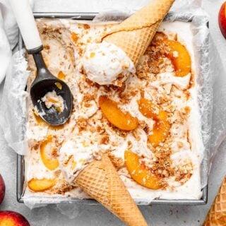 Peach Pie Ice Cream 8 320x320 - Peach Pie Ice Cream