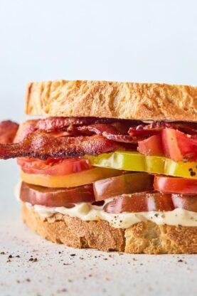 Tomato Sandwich 3 277x416 - The BEST Tomato Sandwich