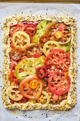 Tomato Tart 2 277x416 - Tomato Tart