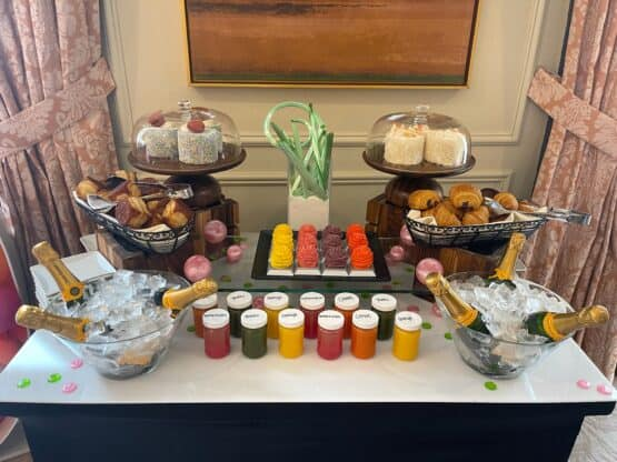 Birthday breakfast surprise 27 555x416 - My Epic 40th Birthday Trip - Part Two Birthday Party at Majordomo