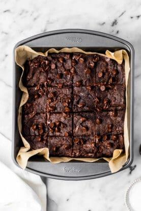 Gluten free vegan brownies 1 277x416 - Gluten Free Brownies (Vegan Brownies Too!)