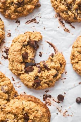Oatmeal Chocolate Chip Cookies 6 277x416 - Oatmeal Chocolate Chip Cookies