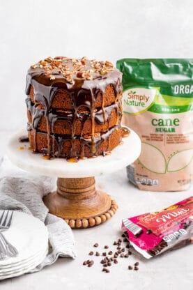Pumpkin Spice Turtle Cake 6 277x416 - Pumpkin Spice Turtle Cake
