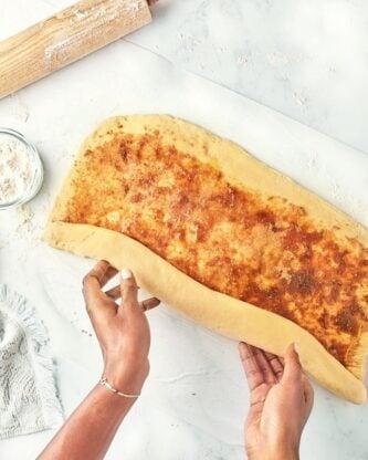 Sweet Potato Cinnamon Rolls 2 333x416 - Sweet Potato Cinnamon Rolls